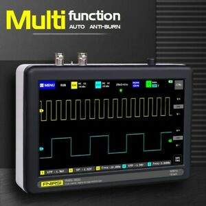 New 7 Inch Digital Tablet Oscilloscope 2ch 100mhz Bandwidth 1gs Sampling Rate