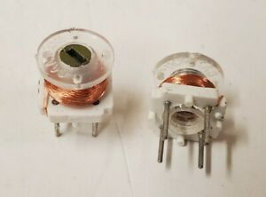 lot Of 10 Cambian 556 7105 57 00 00 Variable Coil 090uh Thru 1 05mh