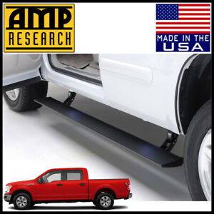 Amp Research Power Step Electric Running Boards Nerf Bas 2015 2020 Ford F 150