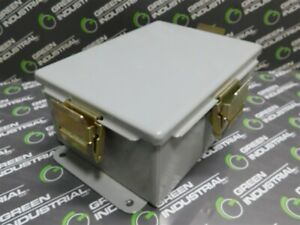 Used Wilcoxon Research Jb06 Junction Box In A Hoffman A 806chnf Enclosure