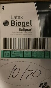 Biogel Eclipse Latex 50 Pairs box Surgical Gloves Sz 5 5 6 6 5 7 7 5 8 8 5 9
