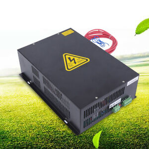 150w 110v Co2 Laser Power Supply For Laser Engraving Cutting Machine Cnc Black