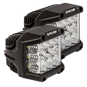 Pro Comp Suspension 76411p Wide Angle Cube Led Light