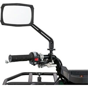 Moose Utility - 0640-1315 - Clearview ATV Mirror with Vibration Isolator