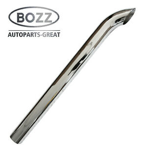Bozz Stack Pipe 5 X60 Od Chrome Curved