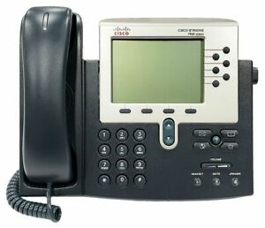 Cisco 7960 Ip Phone Cp 7960g Voip Phone And Handset Office Business Telephone