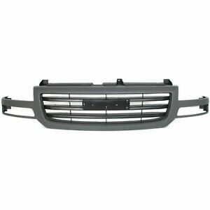 New Grille Fits Gmc Sierra 1500 Classic 2003 2007 Gm1200476 19130790