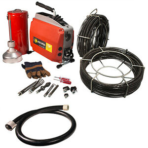 Steel Dragon Tools K60 Sectional Drain Cleaning Machine Fits Ridgid C8 Cable