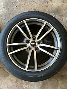 2016 Ford Mustang Gt 18x8 Oem Factory Wheels Rims And Tires 235 55 Full Set