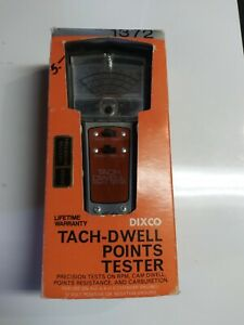 Dixco Tach Dwell Points Tester Model 1372 preowned