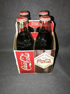 4 Pack Original Since 1886 Coca Cola Limited Edition Atlanta Georgia Bottles