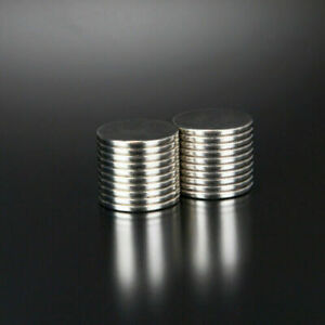25 50pcs N52 Grade 20mm X 2mm Super Strong Neodymium Rare Earth Disc