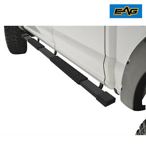 Eag 5 Black Running Board Aluminum bracket Fit For 99 16 Ford F 250 Super Crew