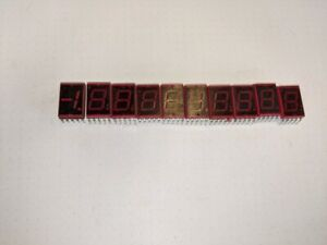 Lot Of 10 Vintage Led Display Nec Sn713a 9 Seven Segment And Nec Sn714 1