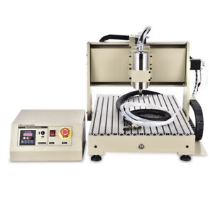 6040cnc Router Engraver Woodworking Engraving Milling Machine Usb 1 5kw 4 Axis