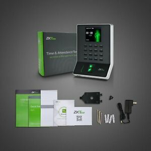 Fingerprint Attendance Machine Biometric Time Clock Employee Check in Recorder