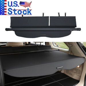 For 2008 2013 Toyota Highlander Cargo Cover Rear Trunk Shade Security Shield New