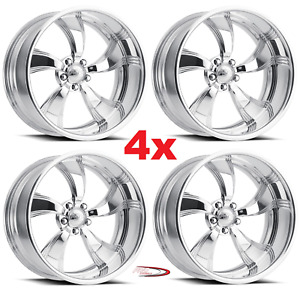 26 Pro Wheels Rims Twisted Killer Intro Foose Mags Forged Billet Line Aluminum