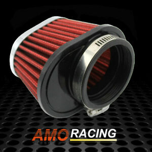 Fits Motor Car Minibike 60mm Air Filter Cold Air Intake High Flow Cone Filter