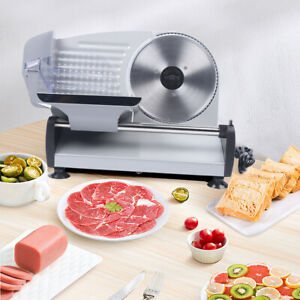 Commercial Electric Meat Slicer 7 5 Blade 200w 90 Rpm Deli Food Cutter Usa