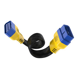 Autool 20 30 Cm Obdii Extension Cord Gooseneck Cable Extension Adapter Connector