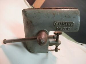 Stanley 700 Bench Mount Corner Vise Wood Working Shop Garage Maintenance