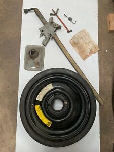 1970 Cuda Factory Dated Bumper Jack And Space Saver Spare Tire Hemi Aar Lh1015