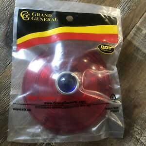 Grand General 80377 Light red Lens With Cr Rim And Blue Dot For 4 Combination