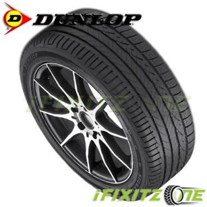 1 New Dunlop Signature Hp 245 45r18 96w 45k Mile All Season Performance Tires