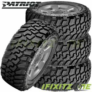 4 Patriot M T Lt315 75r16 E 10pr 127 124q All Season Off Road Truck Mud Tires