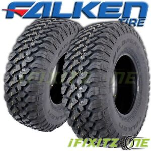 2 Falken Wildpeak M T Truck 33x12 5x15 108q All Season Snow Mud Terrain Tires