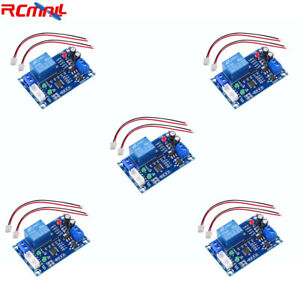 5pcs Xh m203 Water Level Relay Automatic Controller Liquid Switch Module 12v 10a
