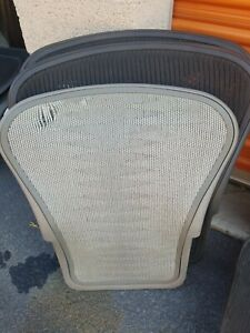 Herman Miller Classic Aeron Tuxedo Mesh Chair Back Size A Small