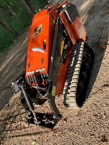 2015 Mini Skid Steer Ditch Witch Sk850 Low Hours High Lifting Capacity Loader