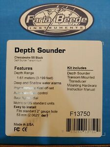 Faria/beede depth sounder f13750