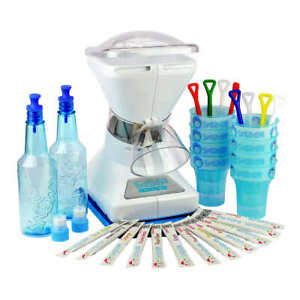 Little Snowie Max Shaved Ice Machine Bundle Summer Pool Fun Keep Cool Treats