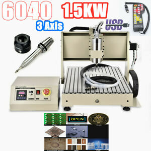 Usb 3axis Cnc6040 Router Engraving Drilling Milling Machine Cutter Engraver rc