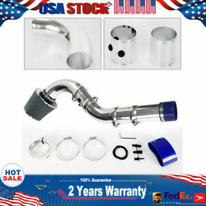 Usa 3 Universal Multiple Combined Cold Air Intake System Pipe W Filter Set