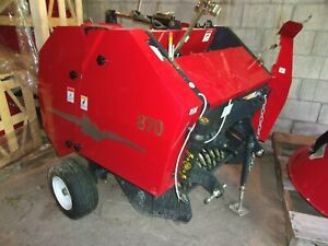 Demo Tar River Srb 870 Mini Round Baler free 1000 Mile Delivery From Kentucky