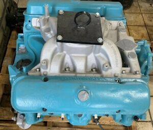 1971 Pontiac 455 Engine With Th400 Transmission Both Fresh Rebuild