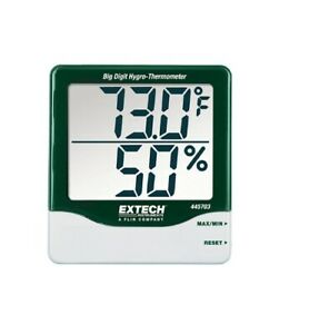 Extech 445703 Big Digit Hygro thermometer New