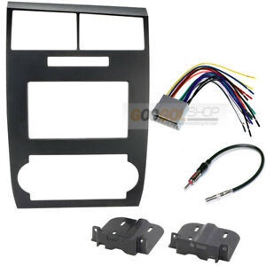 Double Din Radio Car Stereo Install Dash Kit For 2005 2007 Dodge Charger