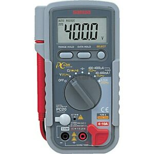 New Genuine Sanwa Pc20 Multimeter Made In Japan Fast Canada Shipping