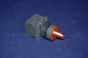 22mm Illuminated Selector Switch 3 Position Fits Yellow Xb5ak135g5 120v Maintain