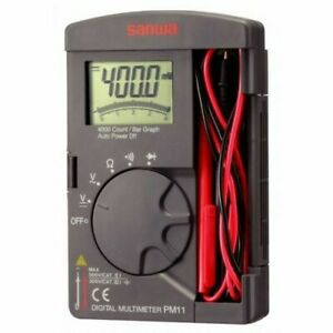 New Genuine Sanwa Pm11 Pocket Multimeter made In Japan Fast Canada Shipping