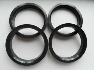4 Pcs Polycarbon Hub Centric Rings Vehicle Side 56 1mm To Rims Side 75mm