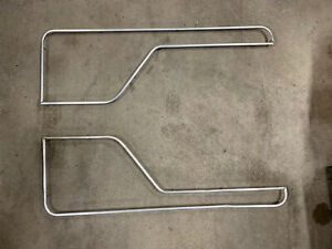 73 79 Ford Truck 78 79 Bronco Door Panel Metal Inserts 1973 1979 Both Sides