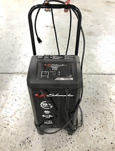 Schumacher Sc1324 12v Wheeled Fully Automatic Battery Charger And 40 200a Engine