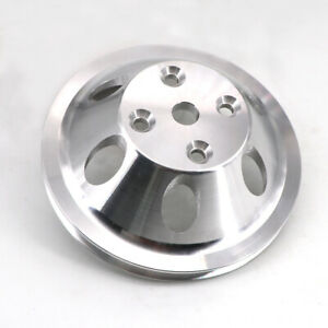 Aluminum Water Pump Pulley For Chevy Sb Sbc 327 305 350 Long Water Pump 1 Groove
