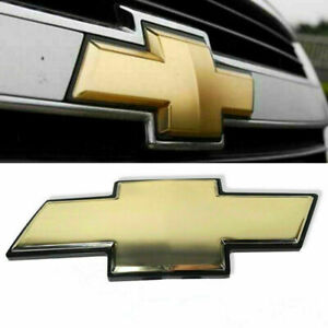 Grille Emblem Front Grill Bowtie Badge For Chevy Silverado 2007 2014